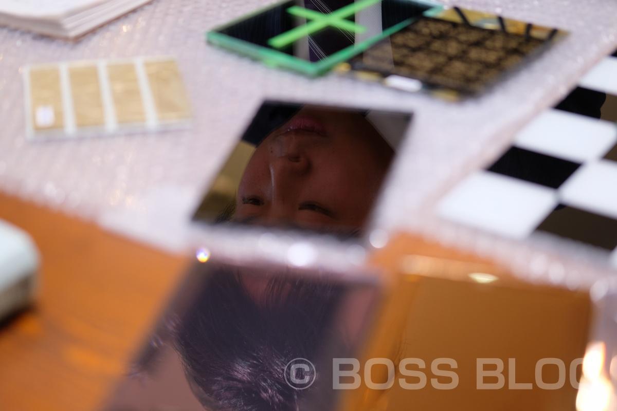 硝子のプロフェッショナルであるハイカワデザインガラスの川本くんと