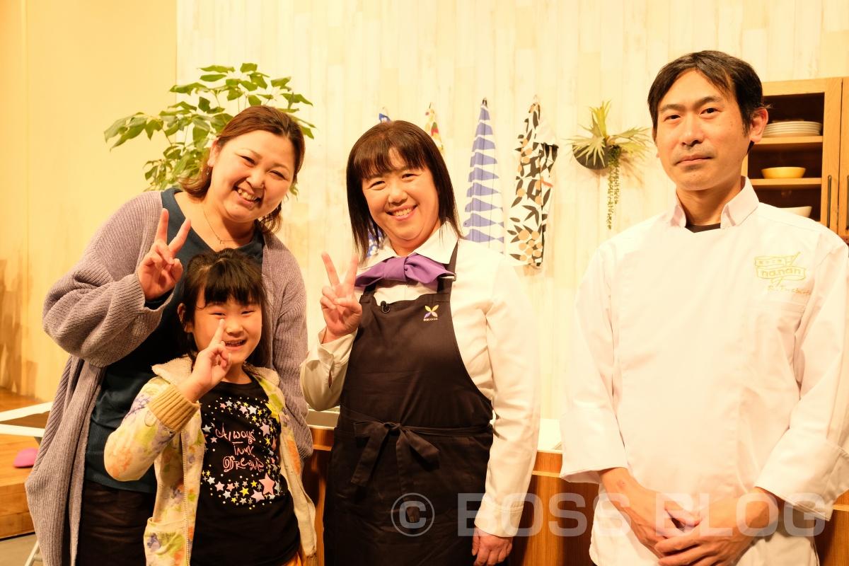下関の菓子工房 na.nanの良太郎さんと野菜ソムリエ上級プロ柳井さつきさんが出演している、300回放送記念のtysテレビ山口「ちぐスマ」のスタジオ見学行って来ました