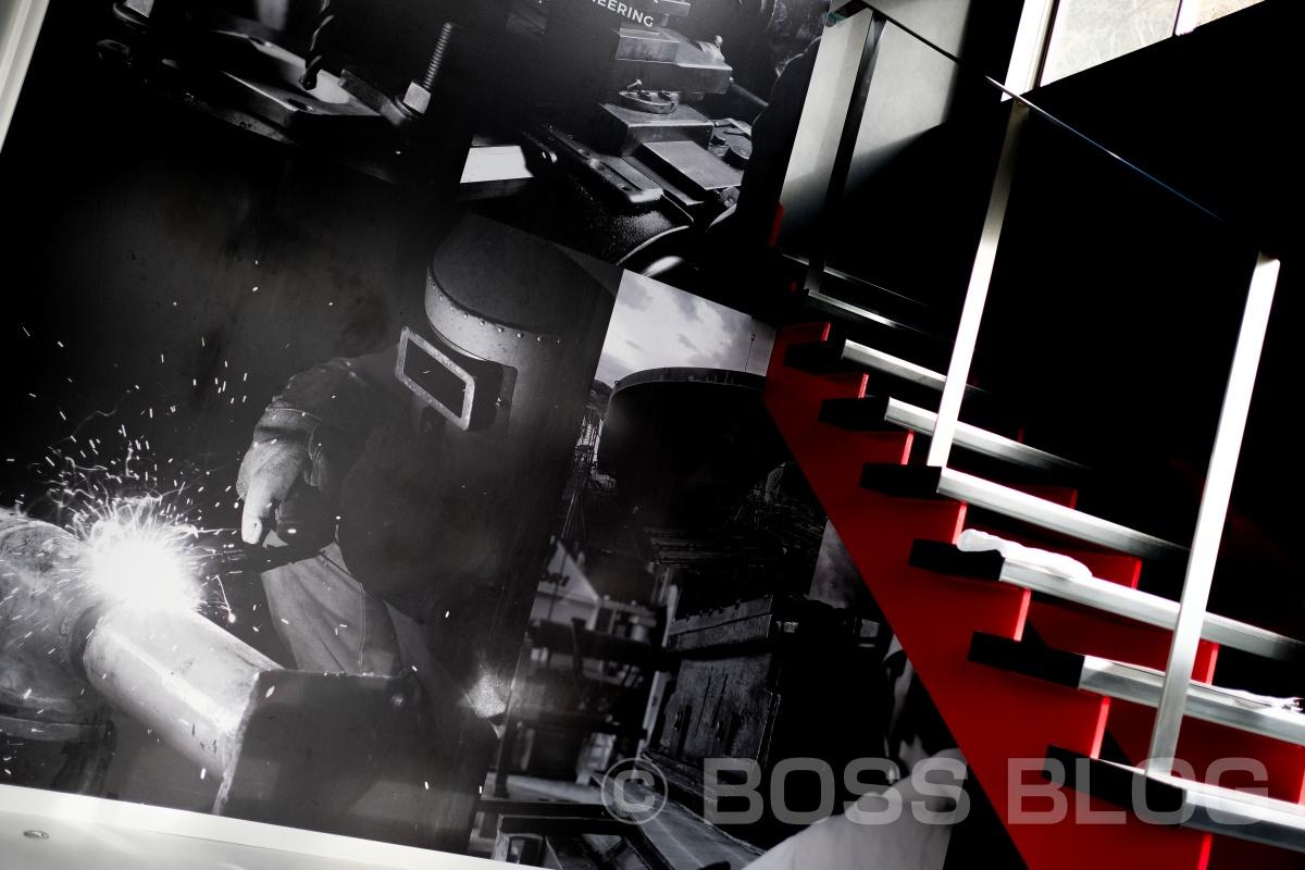 弊社で企業ブランディングデザインをさせて頂いている小門造船鉄工株式会社さんで打ち合わせ中!