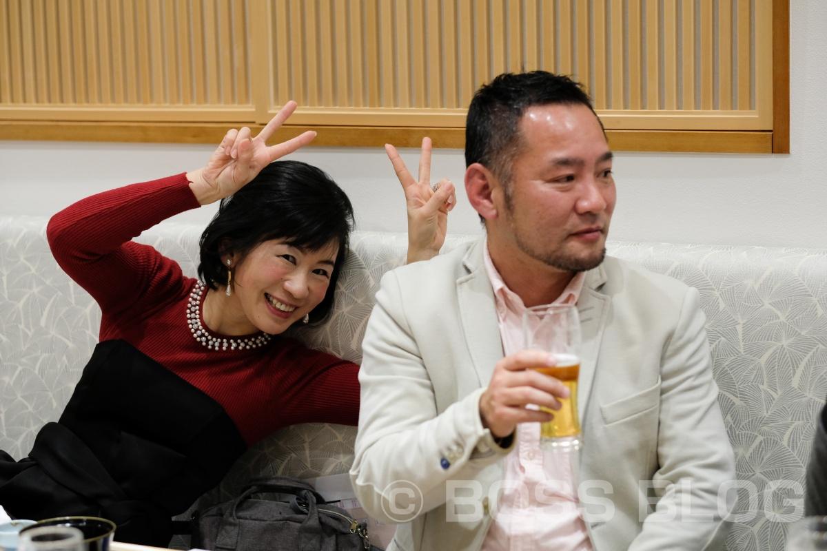 2018年有限会社デザインATOZの忘年会は旬楽館さんの二号店関門海峡が目の前に見渡せる「AKAMA 布久亭」さん!