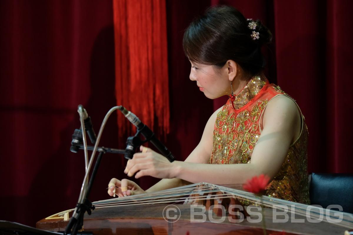 今日は下関市勤労福祉会館で行われた二胡と中国古筝のコンサート!