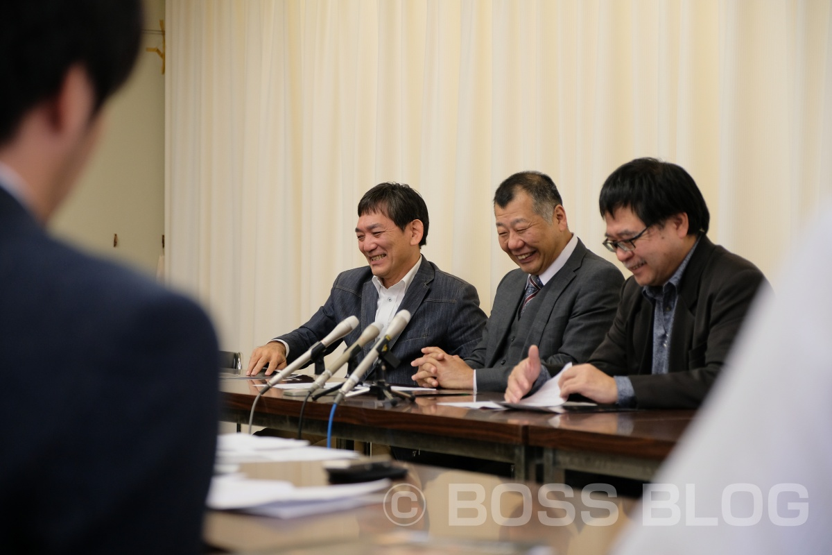BIGプロジェクト「YASUBE PRODUCE 家紋萩焼」の記者発表を山口県庁で行いました!