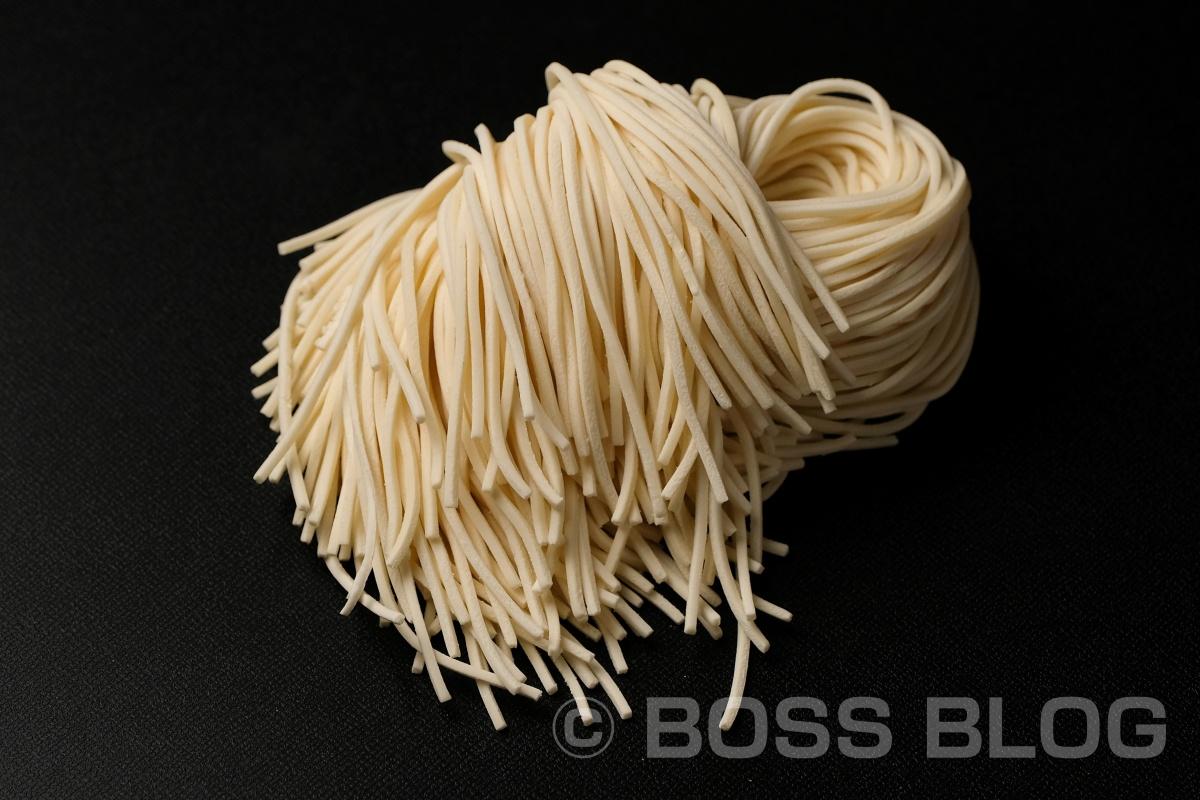 ホームページ用商品撮影で見た麺の美しさ!有限会社 木嶋製麺所