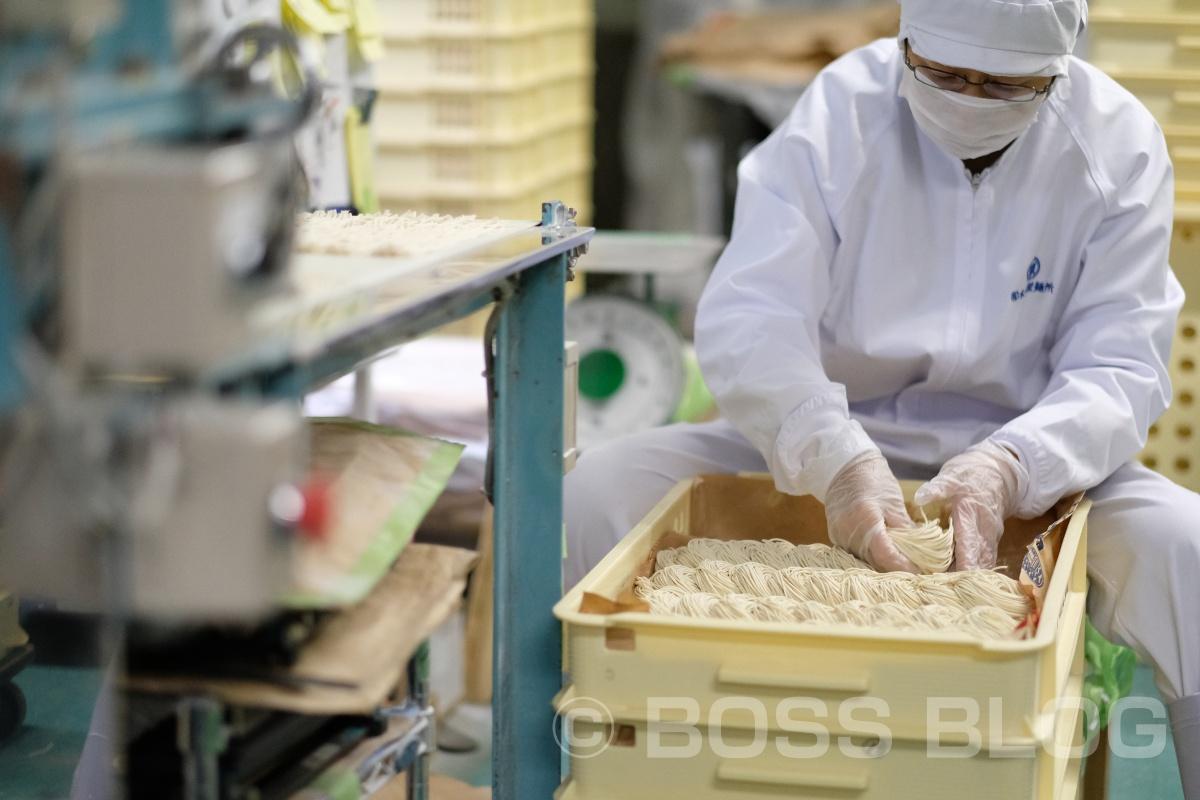 職人の妥協を許さない仕事を激写(有限会社 木嶋製麺所)