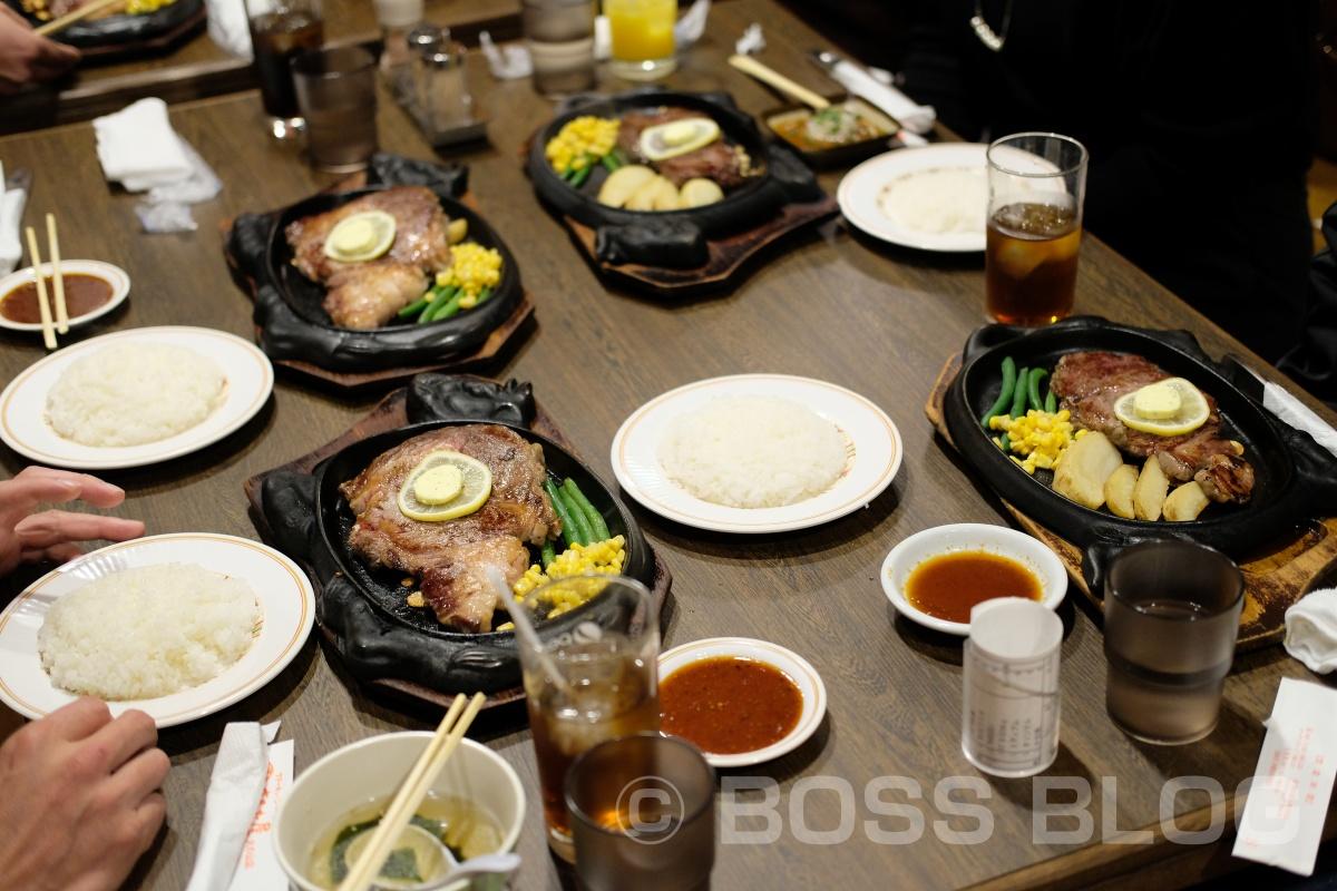 下関のソールフードまるた屋のステーキで快気祝い!その後は夜BARKで静岡の親友と