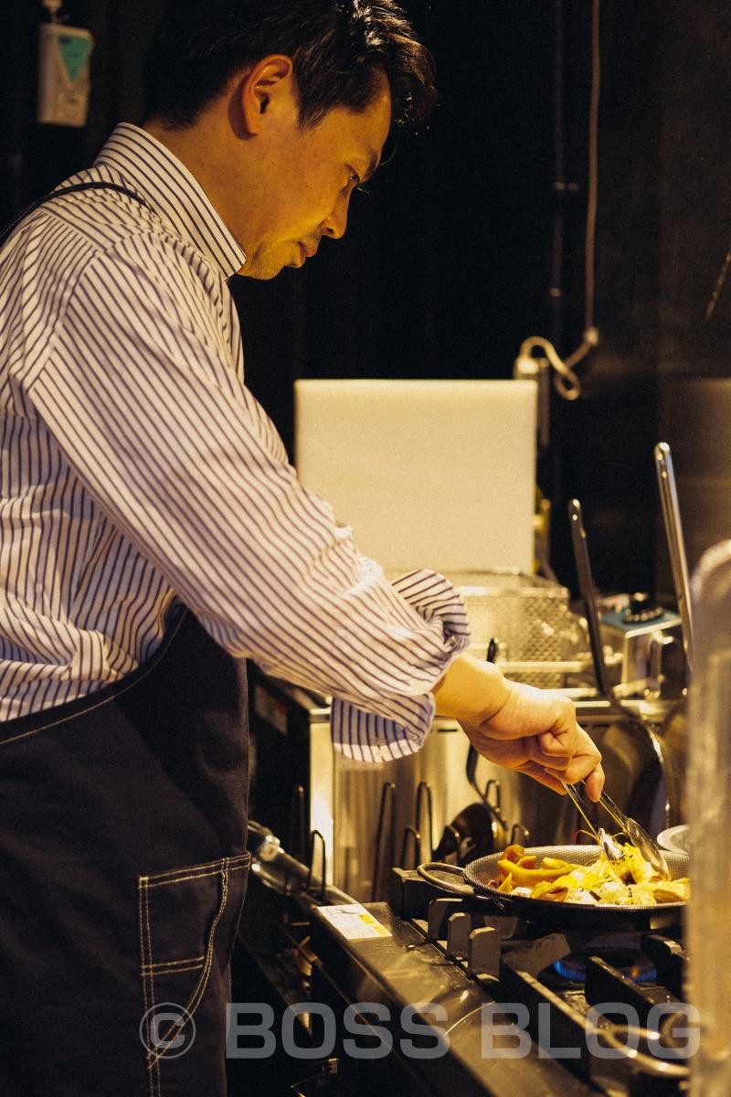 2月5日OPEN決定!下関市竹崎町の「スペイン酒場 Unico ウニコ」料理撮影中!
