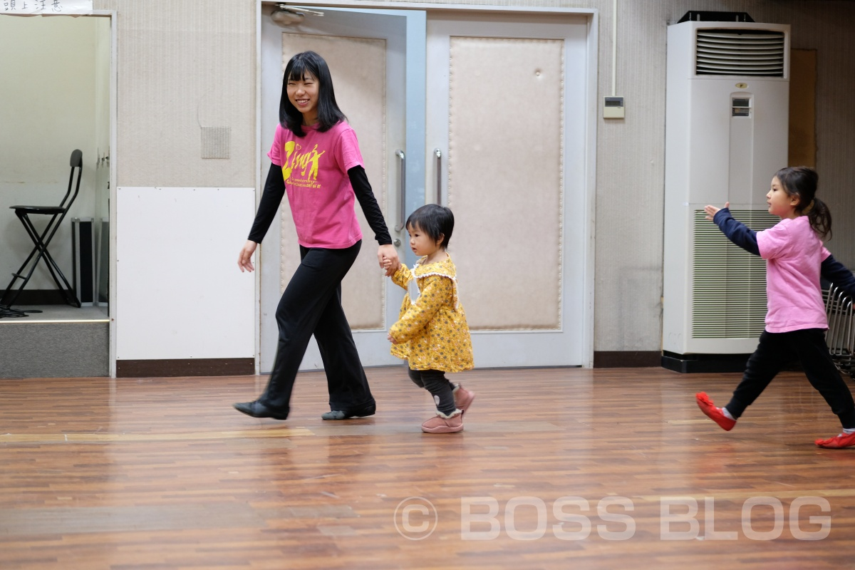 パパと姫ちゃん二人で唐戸にある劇団ZingZingの体験入団