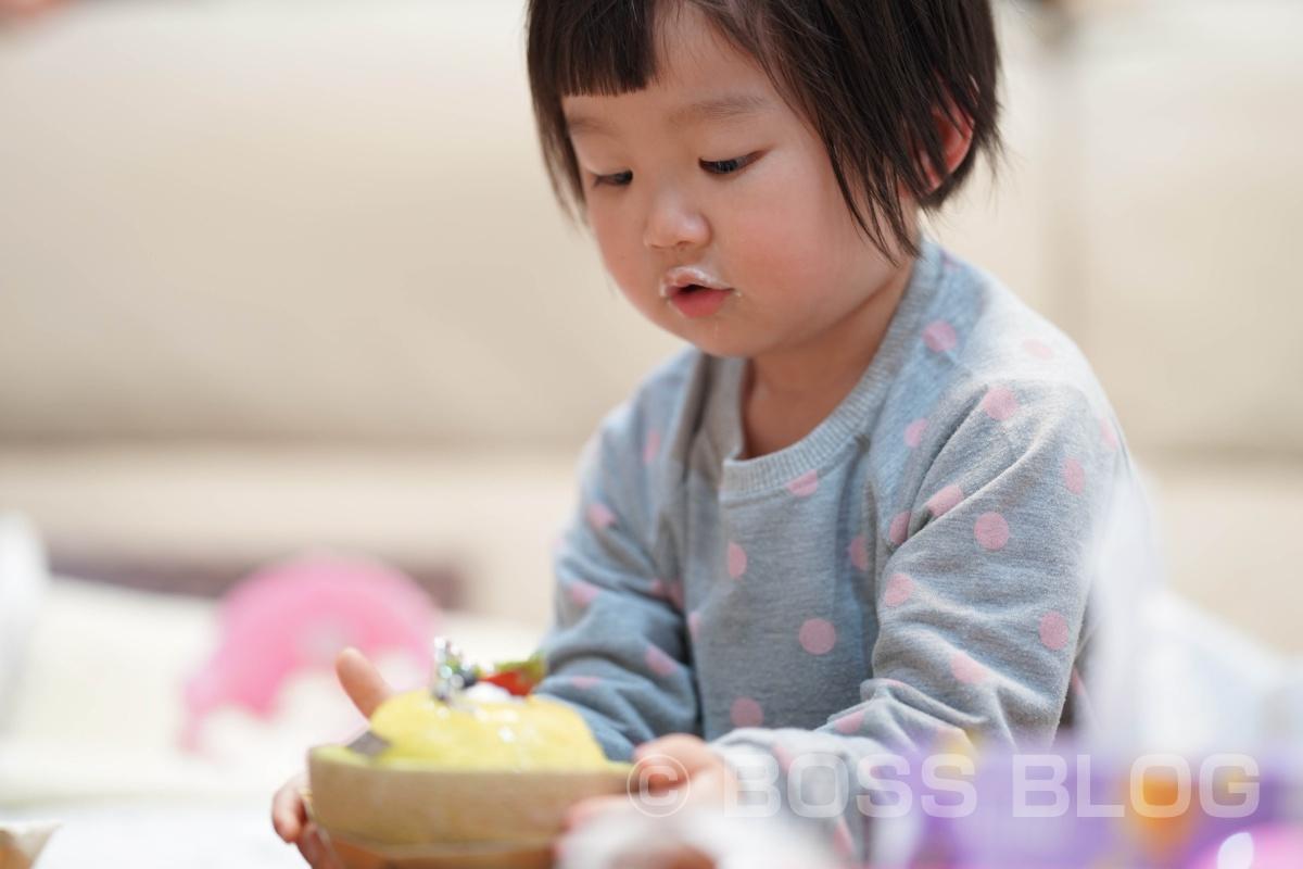 菓子工房nananの誕生日ケーキ