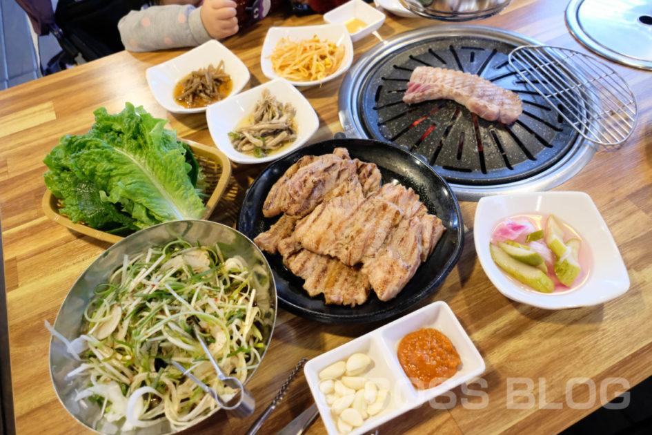 デジカルビ・カフェ・焼肉・韓国釜山の旅