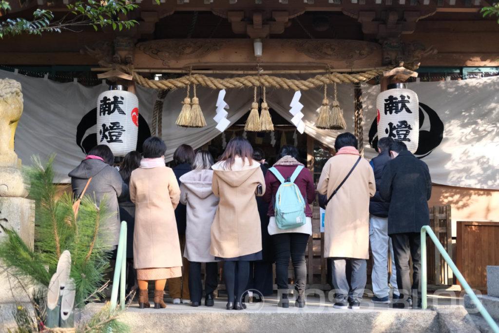 仕事始め(生野神社・赤間神宮・住吉神社)・桃太郎・今年の抱負(色紙)