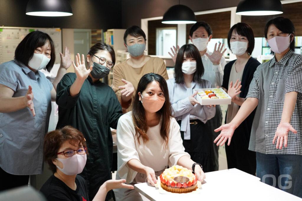 菓子工房 na.nan・岩下の誕生日