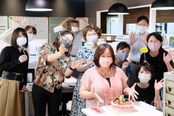 なつこさん誕生日おめでとう!菓子工房na.nan