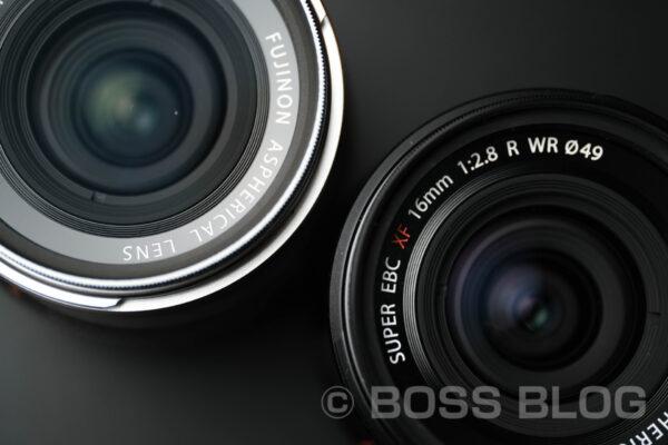 FUJINON XF16mmF2.8とSONY FE135mmF1.8